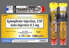Epipen JR Coupon - Epipen JR 2 auto-injectors of 0.15mg package