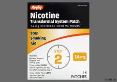 Tan Round Patch Nch 0820 - Nicotine 14mg/24hr Transdermal Patch