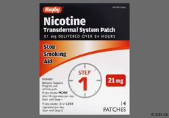 Nicotine Coupon - Nicotine 21mg patch