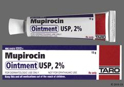 white - Mupirocin 2% Topical Ointment