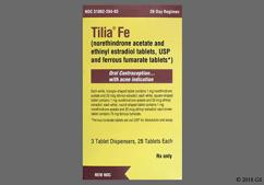 Tilia FE Coupon - Tilia FE 28 tablets package