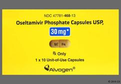 Yellow Dose Pack Nat 30 Mg - Oseltamivir Phosphate 30mg Capsule