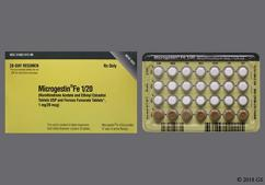 Brown Round Package Wc And 624 - Microgestin Fe 1/20 28-Day Tablet