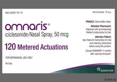 Omnaris Coupon - Omnaris 12.5g of 50mcg nasal spray