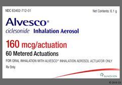 Alvesco Coupon - Alvesco 160mcg inhaler