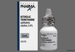Ketorolac Coupon - Ketorolac 5ml of 0.4% eye dropper