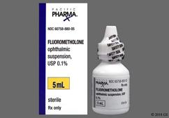 Fluorometholone Coupon - Fluorometholone 5ml of 0.1% eye dropper