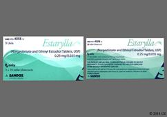 Green Round Package Sz And J1 - Estarylla 28-Day Tablet