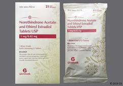 Ethinyl Estradiol/Norethindrone Coupon - Ethinyl Estradiol/Norethindrone 21 tablets of 1mg/0.02mg package