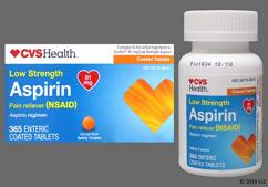 orange round - CVS Aspirin Low Dose 81mg Enteric Coated Tablet