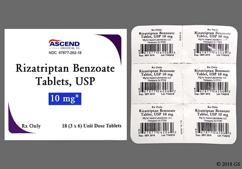 Rizatriptan Coupon - Rizatriptan 10mg tablet