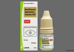 Moxifloxacin Coupon - Moxifloxacin 3ml of 0.5% eye dropper