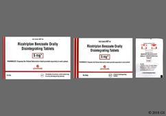 White Round Orally Disintegrating Tab 467 - Rizatriptan Benzoate 5mg Orally Disintegrating Tablet