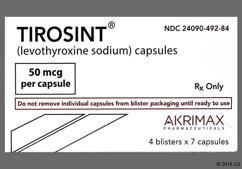 Tirosint Coupon - Tirosint 50mcg capsule