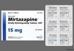 White Round Orally Disintegrating Tab Wpi And 2469 - Mirtazapine 15mg Orally Disintegrating Tablet