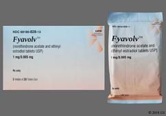 Blue Round Package Lu And F52 - Fyavolv 1/0.005 Tablet