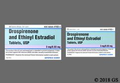White Round Package Pc - Drospirenone/Ethinyl Estradiol 3mg-0.03mg Tablet