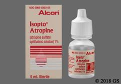 Isopto Atropine Coupon - Isopto Atropine 5ml of 1% eye dropper