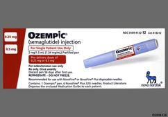 Ozempic Coupon - Ozempic 1 pen of 0.25mg/0.5mg carton
