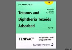 Tenivac Coupon - Tenivac 0.5ml syringe