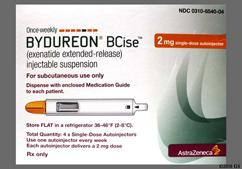 Bydureon Bcise Coupon - Bydureon Bcise 4 pens of 2mg/0.85ml carton