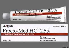 Procto-Med HC Coupon - Procto-Med HC 30g of 2.5% tube of cream