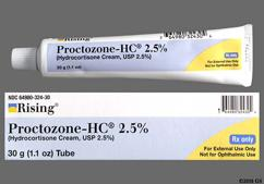 Proctozone HC Coupon - Proctozone HC 30g of 2.5% tube of cream