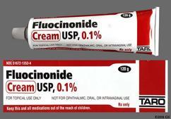 white - Fluocinonide 0.1% Topical Cream