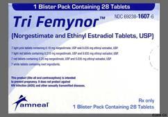Tri-Femynor Coupon - Tri-Femynor 28 tablets package