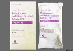 White Round Package E6 - Drospirenone/Ethinyl Estradiol 3mg-0.03mg Tablet