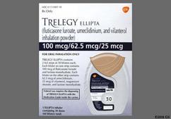 Trelegy Ellipta Coupon - Trelegy Ellipta 60 blisters of 100mcg/62.5mcg/25mcg inhaler