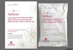 Ashlyna Coupon - Ashlyna 91 tablets package