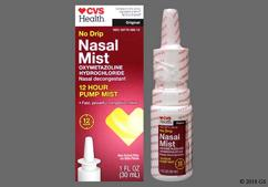 colorless - CVS No Drip 0.05% Nasal Mist