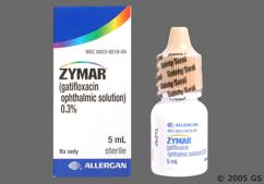 Zymar Coupon - Zymar 5ml of 0.3% eye dropper