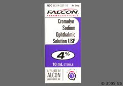 Cromolyn Coupon - Cromolyn 10ml of 4% eye dropper