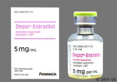 colorless - Depo-Estradiol 5mg/ml in Oil for Injection