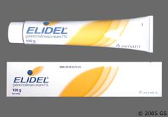 white - Elidel 1% Topical Cream