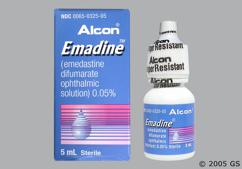 Emadine Coupon - Emadine 5ml of 0.05% eye dropper
