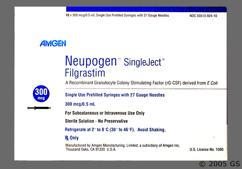 Filgrastim Coupon - Filgrastim 0.5ml of 300mcg syringe
